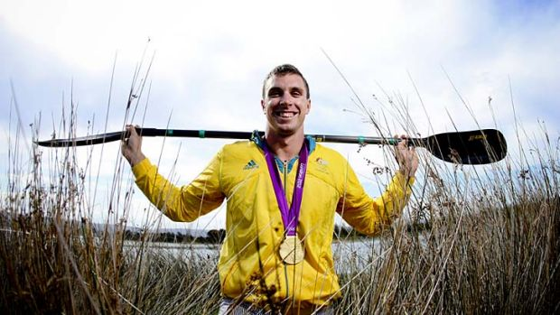"""It doesn't cause a problem for the clean athletes"" ... kayaking gold medallist, David Smith."
