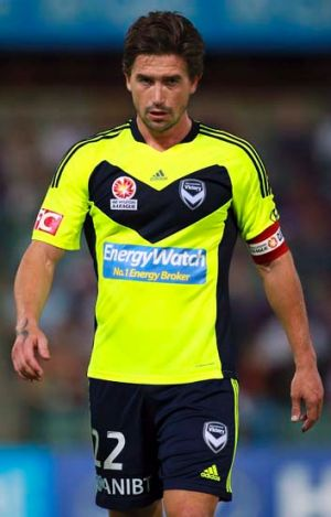 Paid up: Harry Kewell in Victory uniform.