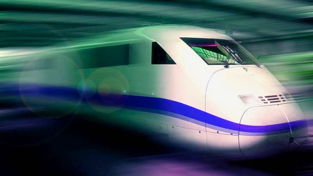 High speed rail ... how the $26 billion could be spent.