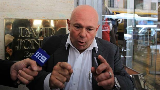Obeid partner … Rocco Triulcio, who with his brother Rosario, initially paid for the Honda CRV under investigation ...