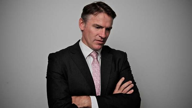 Incredulous ... Independent MP Rob Oakeshott.