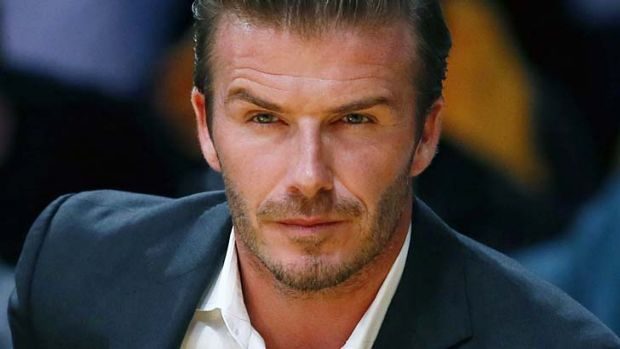 Leaving LA ... David Beckham.