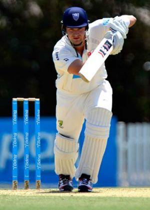 Shane Watson batting for NSW on Friday.