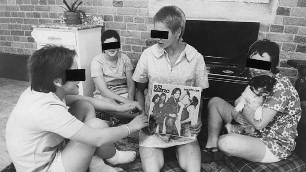 ''Inmates'' of the Parramatta Girls Home.