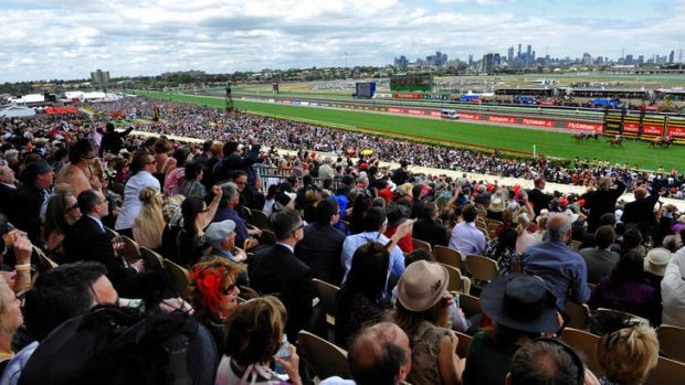 The Melbourne Cup in 2009.