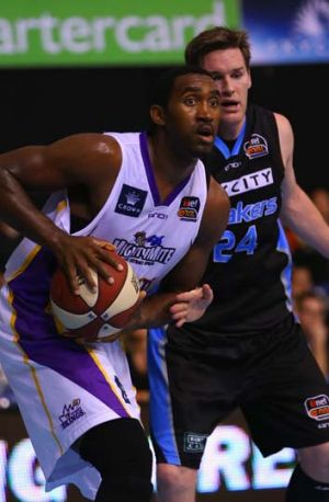 Positive … Darnell Lazare against the Breakers.