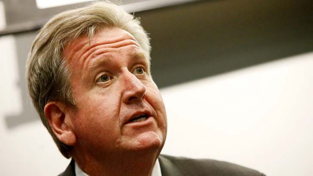 """Barry O'Farrell ... has promised to set up """"drunk tanks""""."""
