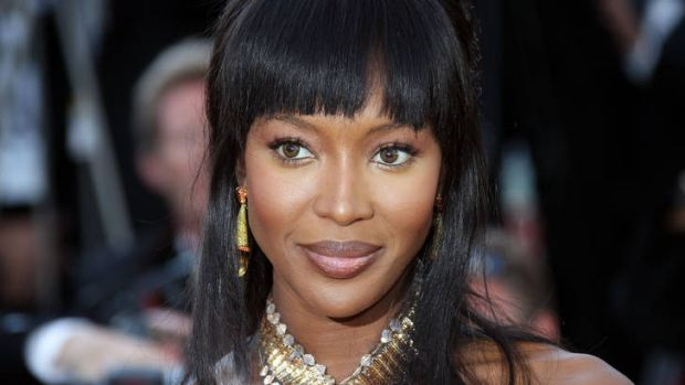 Naomi Campbell ... planning an elephant polo match.