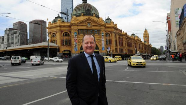 Russel Howcroft in Melbourne.