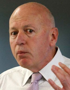 Disunity within ... Energy Minister, Chris Hartcher, calls for the direct election of candidates.