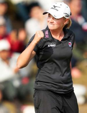 Stacy Lewis.