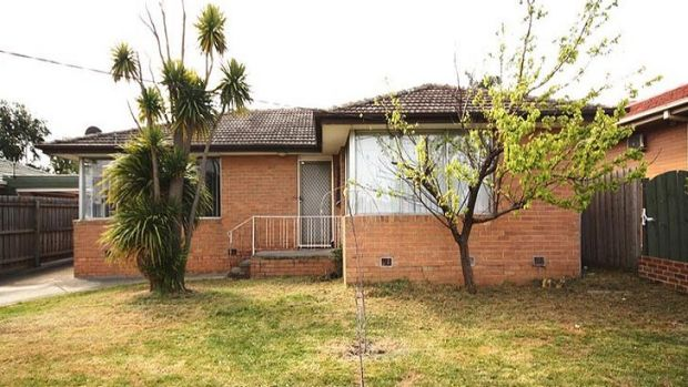 Bargain house ... This three-bedroom brick veneer property at 20 Koroit Avenue in Dallas sold for $270,000.