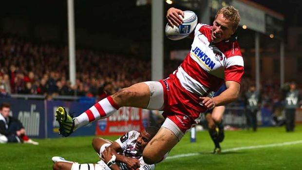 Billy Twelvetrees of Gloucester.