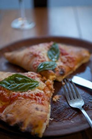 Go-to dish ... Gigi's calzone is a knockout.