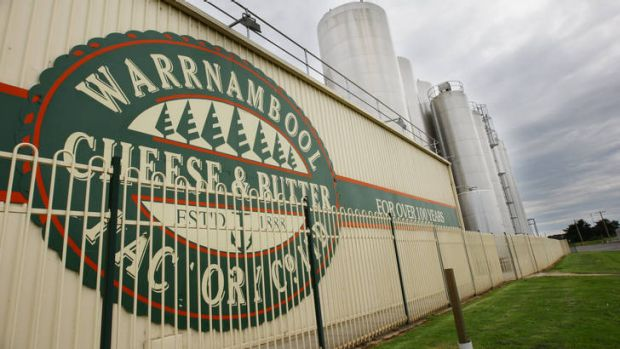 The Warrnambool Cheese and Butter factory.