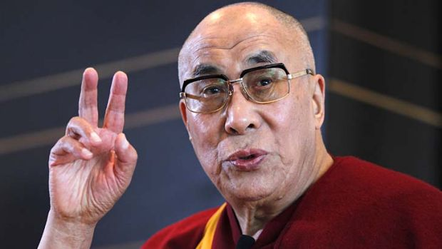 """I think there is no alternative except there is some political change"" ... the Dalai Lama."