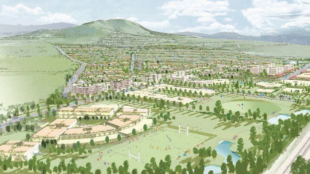 An artist's impression of how Tralee will look when completed.