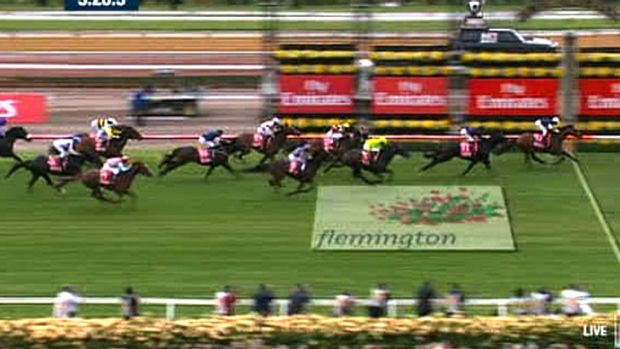 Chance of repeat? Green Moon wins last year's Melbourne Cup.