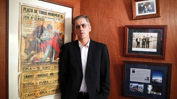 Man of many parts… Robert Forster at his Brisbane home.