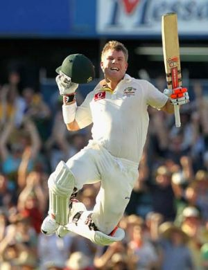 """Every time I've played against Dale [Steyn] he's never said a word to me"" ... David Warner."