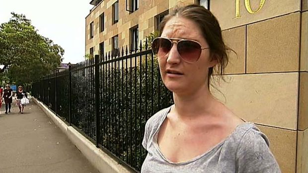 Damage control ... the student ''Georgie'', who told Lateline she was in her first year, has been revealed to be a ...