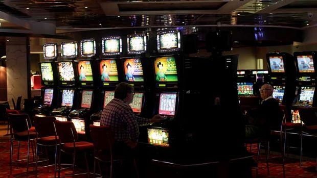 Targeting problem gamblers ... eventually all pokies within a state will have to be linked.