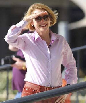Gai Waterhouse ... happy with her second place finish.