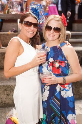 Jodie Haylock and Elaine Douthie.