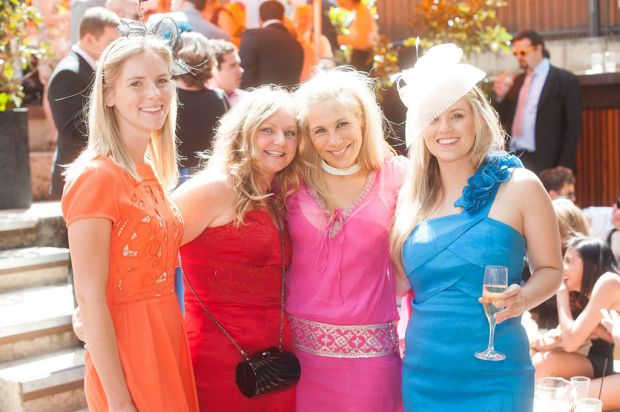 Jo McArthur, Jilly McGuire, Lisa Fernandez and Pippa Burgess.