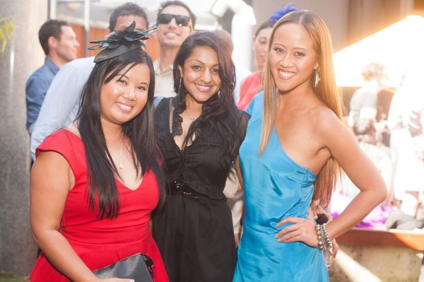 Avon Truong, Bianca Valladar and Alice Kwan.