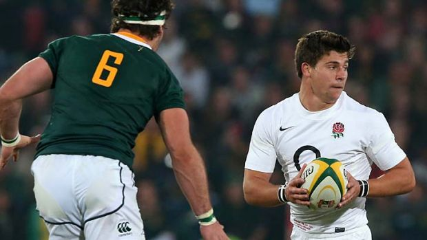 England half Ben Youngs.