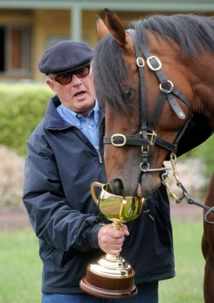 Millionaire owner Lloyd Williams, Green Moon and the Melbourne Cup.
