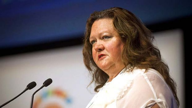 Attempted to have the lawsuit dismissed ... Gina Rinehart.