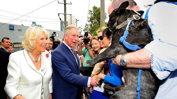 Charles and Camilla are on their way to Canberra, where they will officially rename Parkes Place.