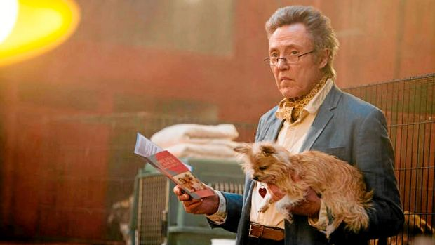 A delight: Christopher Walken plays a small-time criminal with a philosophical edge in Martin McDonagh's latest feature, ...
