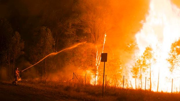 Bushfire research funding is running out.