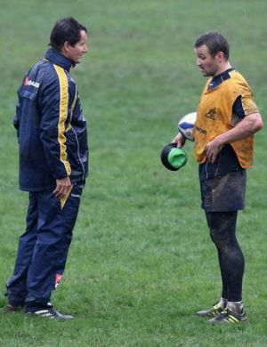 Robbie Deans and Matt Giteau had a falling out.