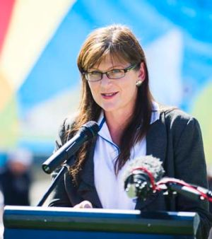 Federal Sports Minister Kate Lundy.