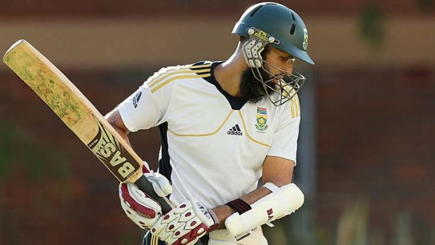 """""""We should look to get into his head and play a bit of a psychological war"""" ... Hashim Amla will be put under plenty of ..."""