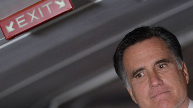 Torn both ways ... some Republicans are blaming Mitt Romney for being too moderate.