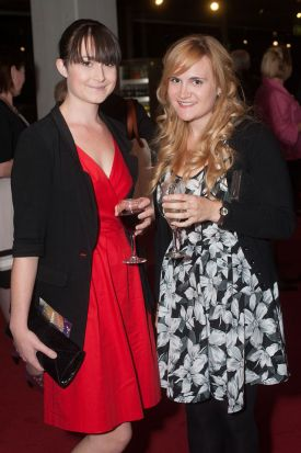 Laura Hewison and Emma Chandler.