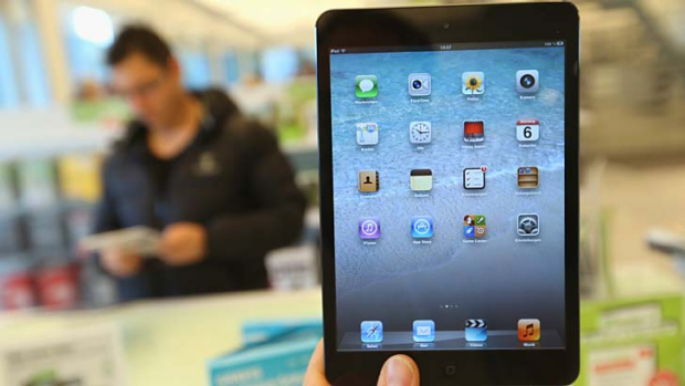 Version 2 in the works already? ... the iPad mini was released to consumers last week.