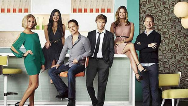 The stars of TV reality show <i>Startups: Silicon Valley</i>.