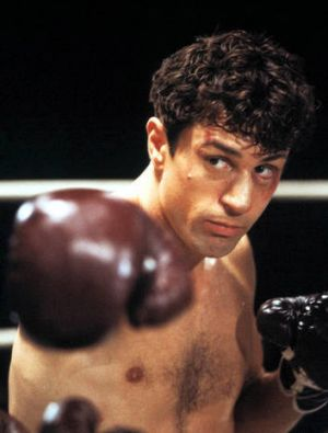 The greatest boxing movie of all time ... Robert De Niro in <i>Raging Bull</i>.