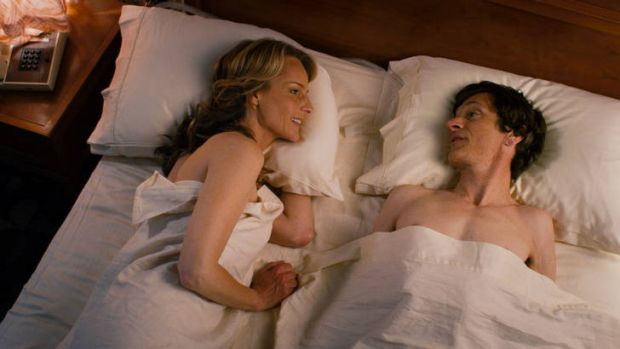 Relentlessly honest … Helen Hunt and John Hawkes challenge taboos.