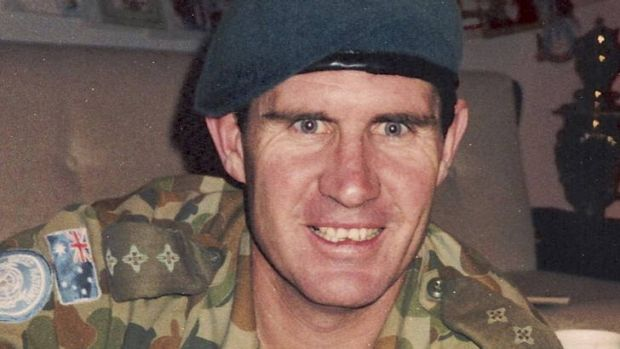 Captain Peter McCarthy, who died on January 12, 1988 while serving as a peacekeeper in Lebanon. His daughter Sarah ...