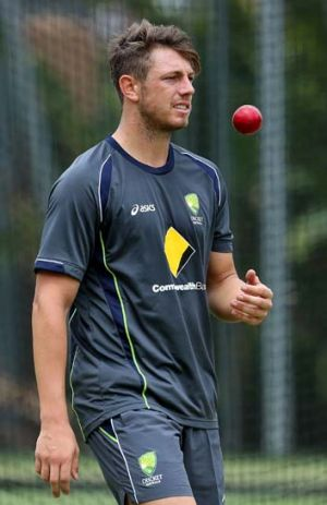 James Pattinson ... won't be turning vegetarian any time soon.