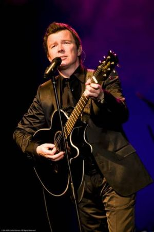 Rick Astley is performing at the Canberra Theatre on November 21.
