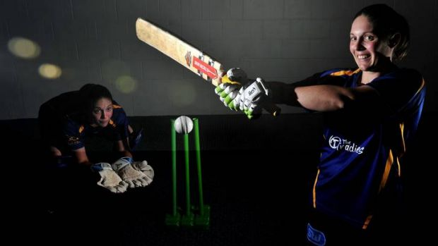 Canberra wicketkeeper and opening batter Laura Wright.