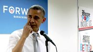 Obama sheds a tear for campain staff (Video Thumbnail)